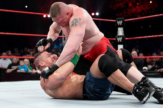 Brock Lesnar vs  John Cena: Did Extreme Rules Match Happen as It