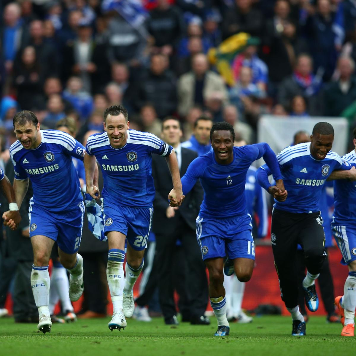 Champions League Final 2012: FA Cup Final 2012: How Victory Primes Chelsea For
