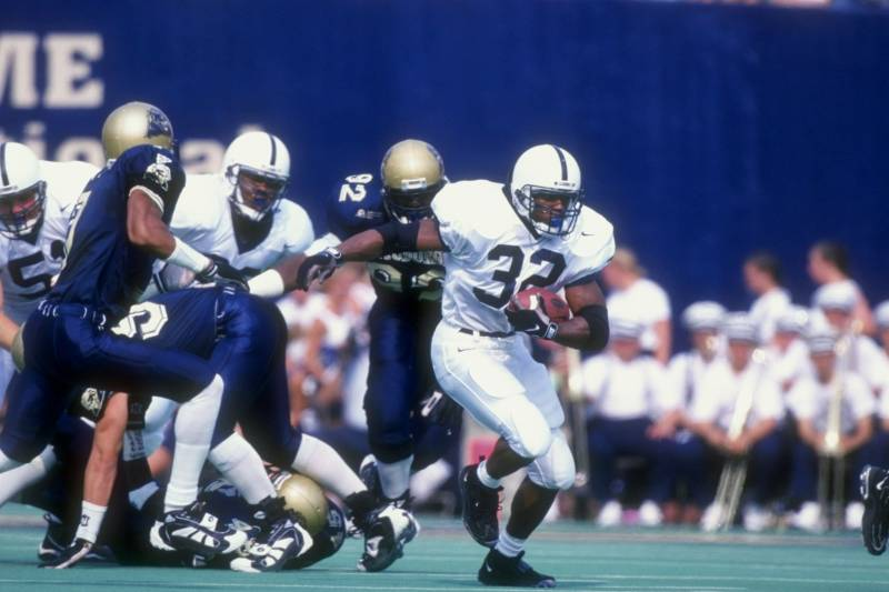 cb7e2acd 19 Sep 1998: Tailback Cordell Mitchell #32 of the Penn State Nittany Lions  in