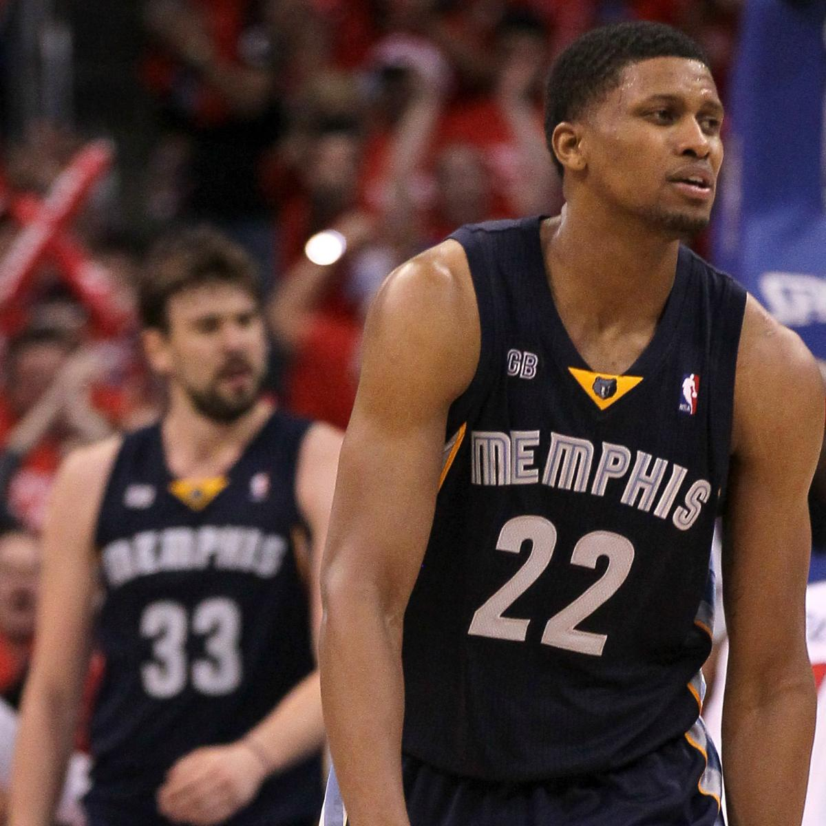 NBA Playoffs 2012: Rudy Gay Must Step Up For Grizzlies To
