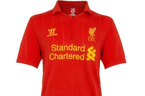 separation shoes 4f4af 0ab8a Liverpool New Home Kit: Warrior Sports' First Premier League ...