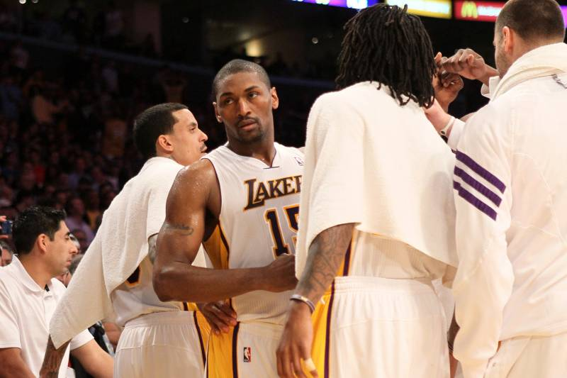 e9a636ae072 Lakers vs. Thunder: Metta World Peace's Beef with James Harden is ...