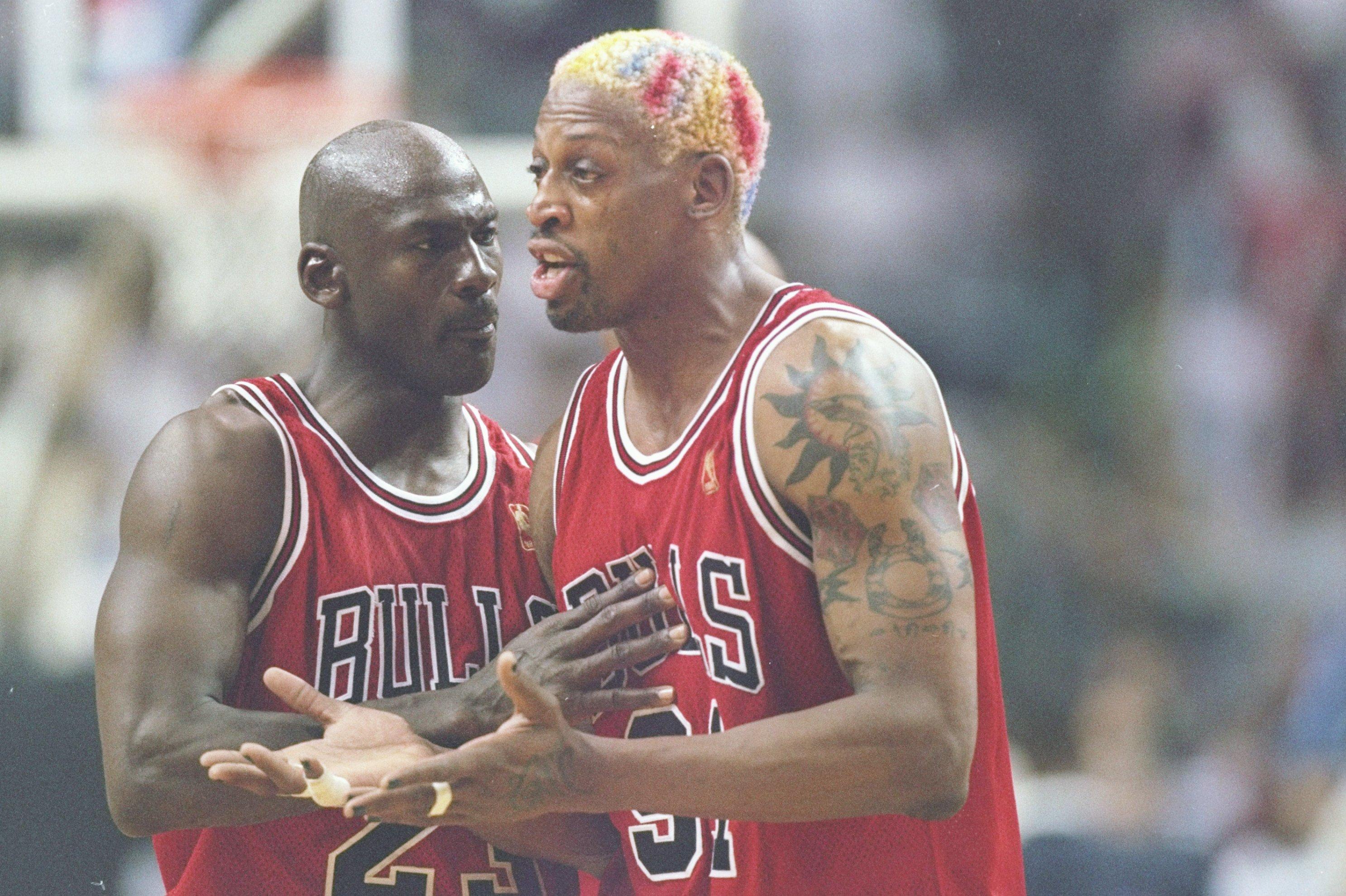 Bulls Fanatic Unveils Massive Michael Jordan Dennis Rodman