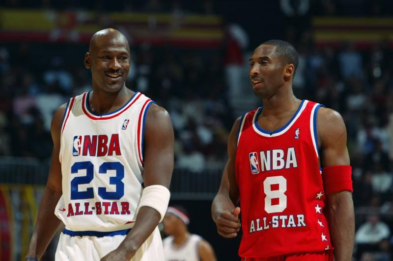 84734b9dc ATLANTA - FEBRUARY 9  Michael Jordan (Washington Wizards)  23 of the Eastern