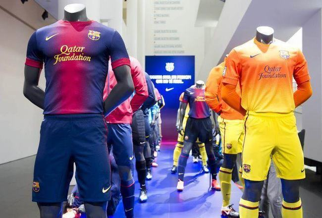 low priced 29849 3293a The New FC Barcelona 2012-13 Jerseys Are Here! | Bleacher ...