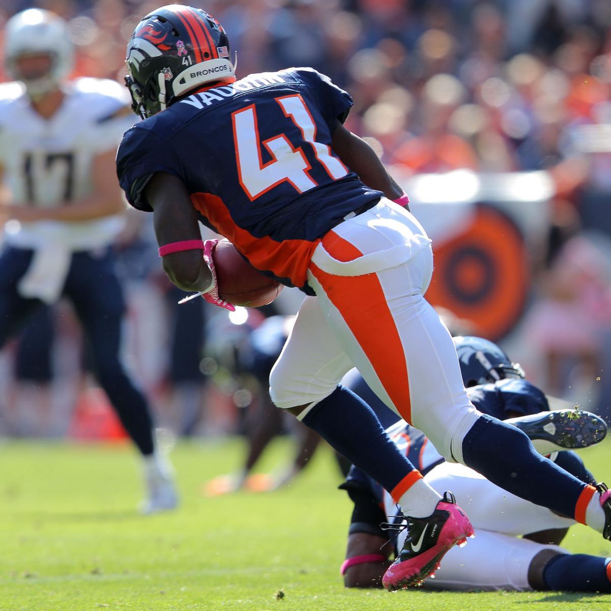 Breaking News: Denver Broncos Trade Cassius Vaughn To Indy