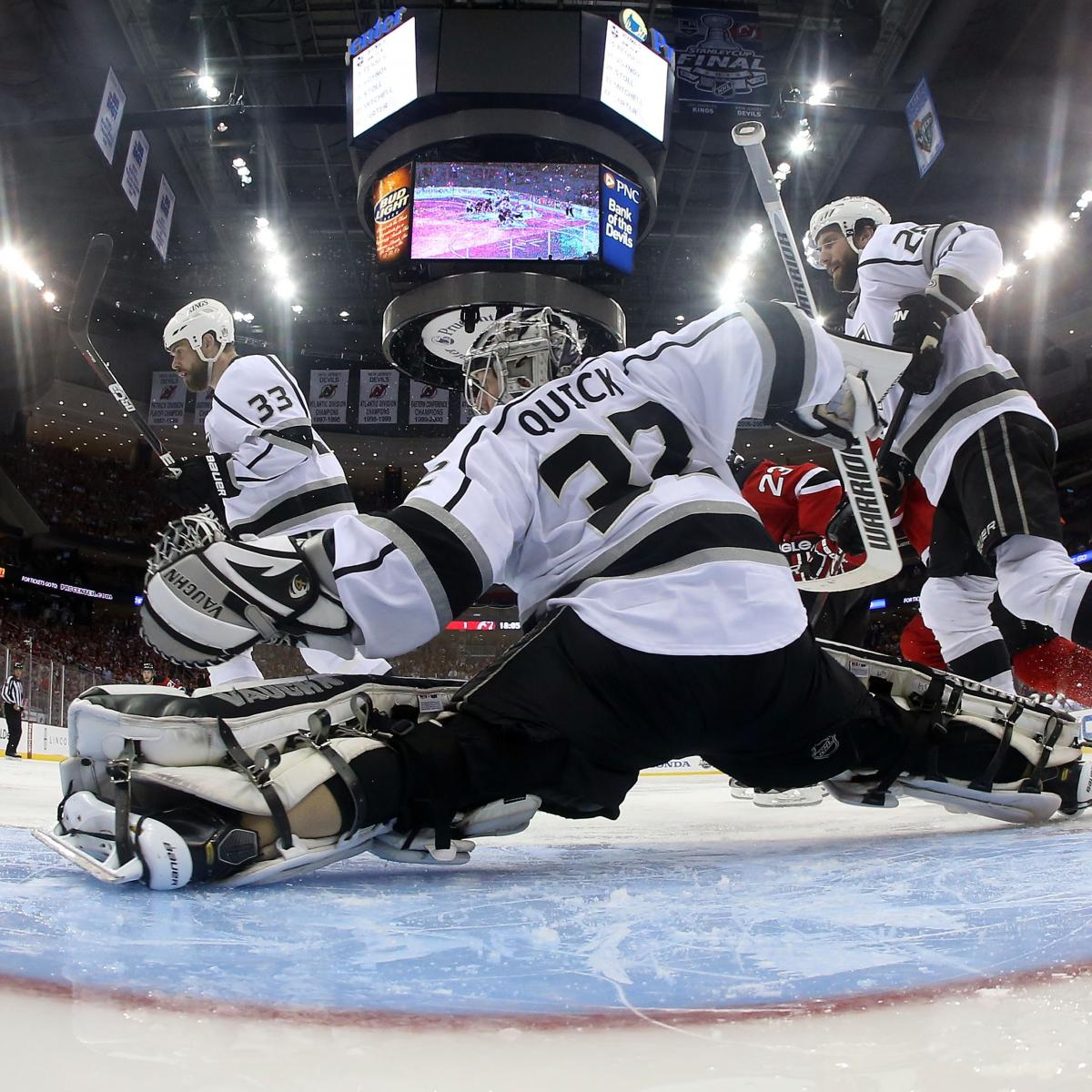 b3a4c17bbfc Stanley Cup Predictions 2012: Why LA Kings Will Sweep New Jersey Devils |  Bleacher Report | Latest News, Videos and Highlights