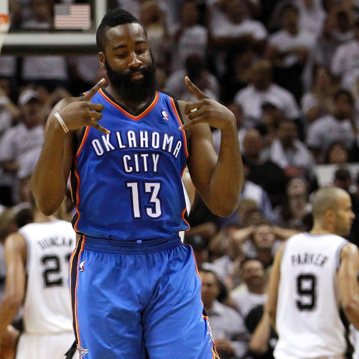 James Harden In Okc: James Harden, Oklahoma City Thunder Make Yet Another