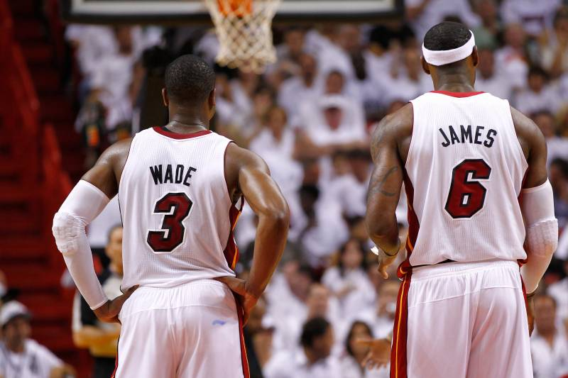 outlet store 626ed bada5 How Dwyane Wade Is Destroying LeBron James' Legacy ...