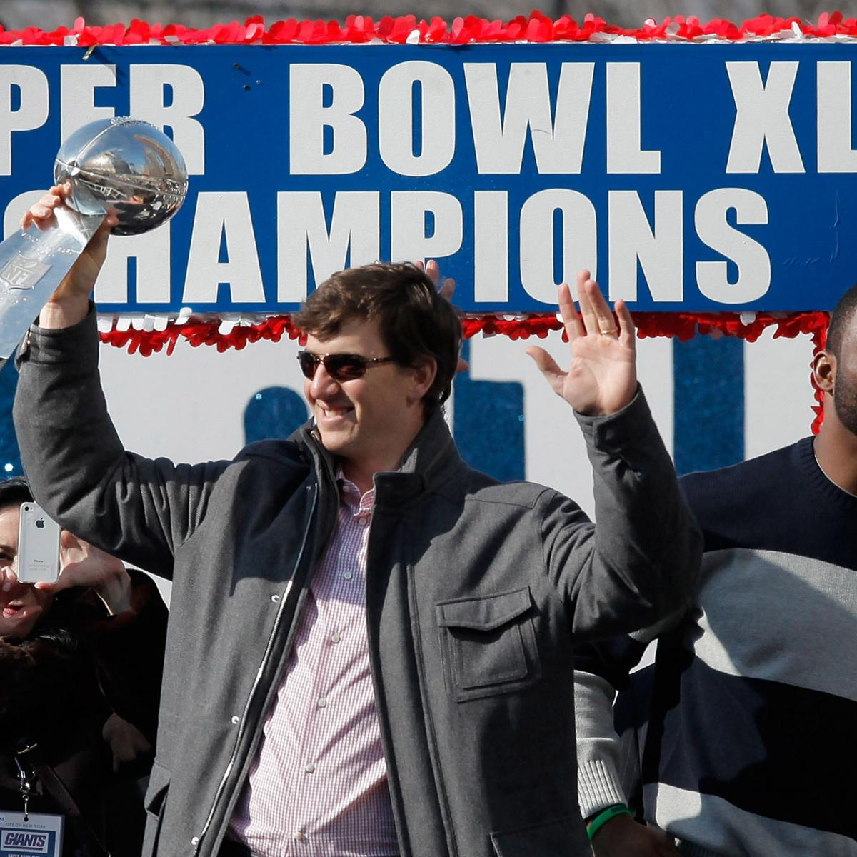 Ny Giants Eli Manning The Most Clutch Quarterback Since