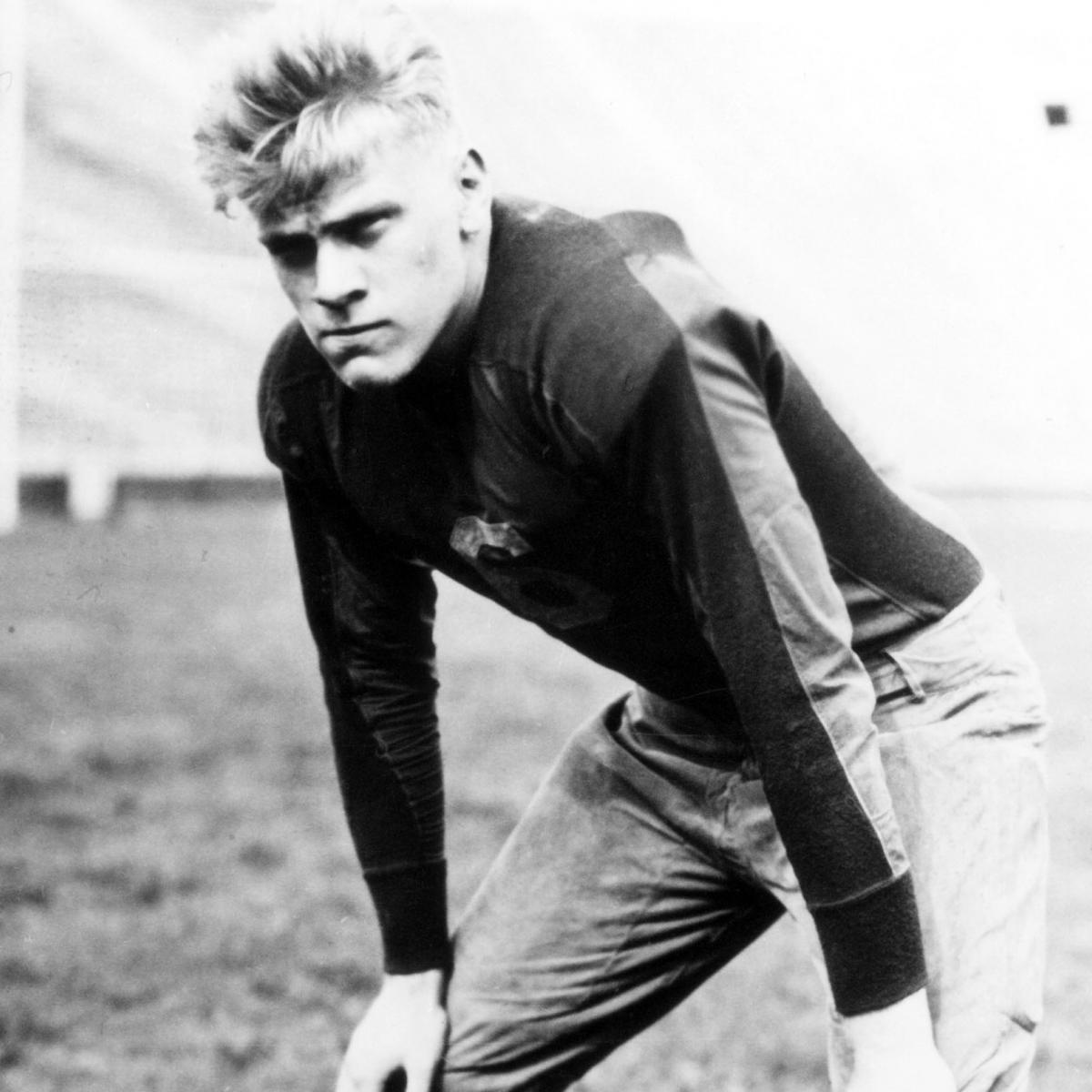 Michigan Football Gerald Ford S Legendary No 48 Getting