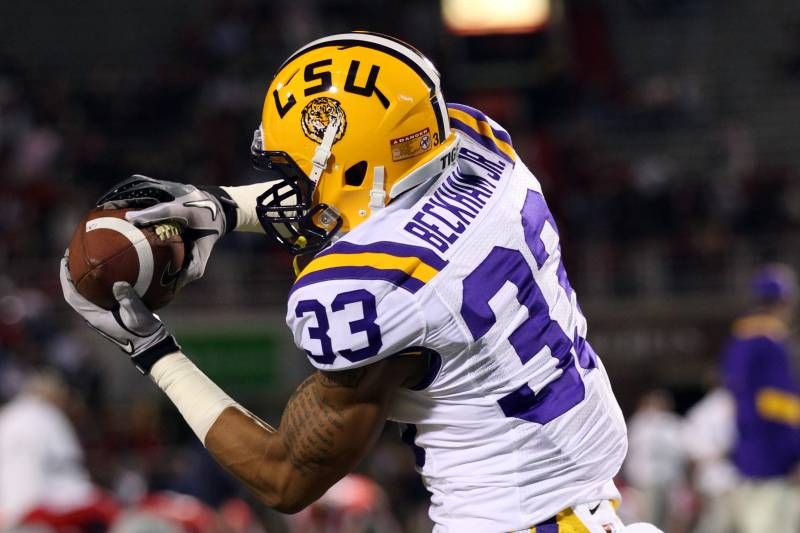 cheap for discount d65cc 75bb8 LSU Football: What You Need to Know About Tigers' WR Odell ...
