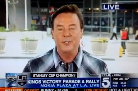 LA Kings Video: Watch KTLA Refer to Stanley Cup Champs