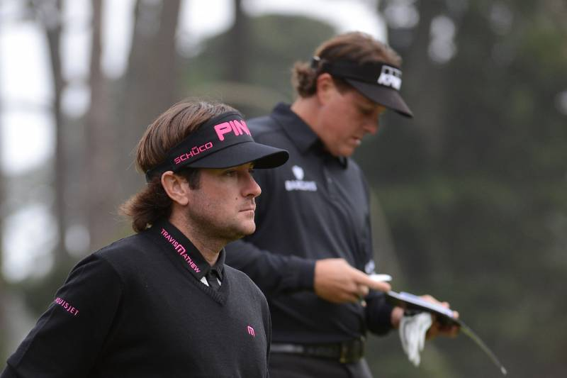 US Open Leaderboard 2012: Phil Mickelson and Stars in Danger of Missing Cut