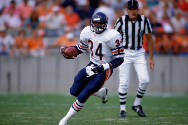 timeless design 209a6 52b36 Top 10 NFL Running Backs of All Time Series: No. 2, Walter ...