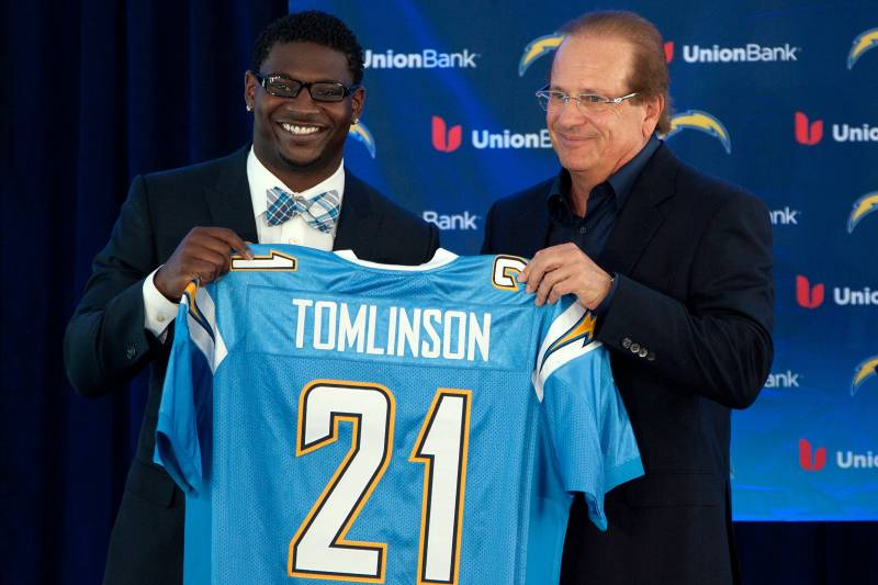 official photos 1f706 f1b08 LaDainian Tomlinson Retires: Career by the Numbers ...