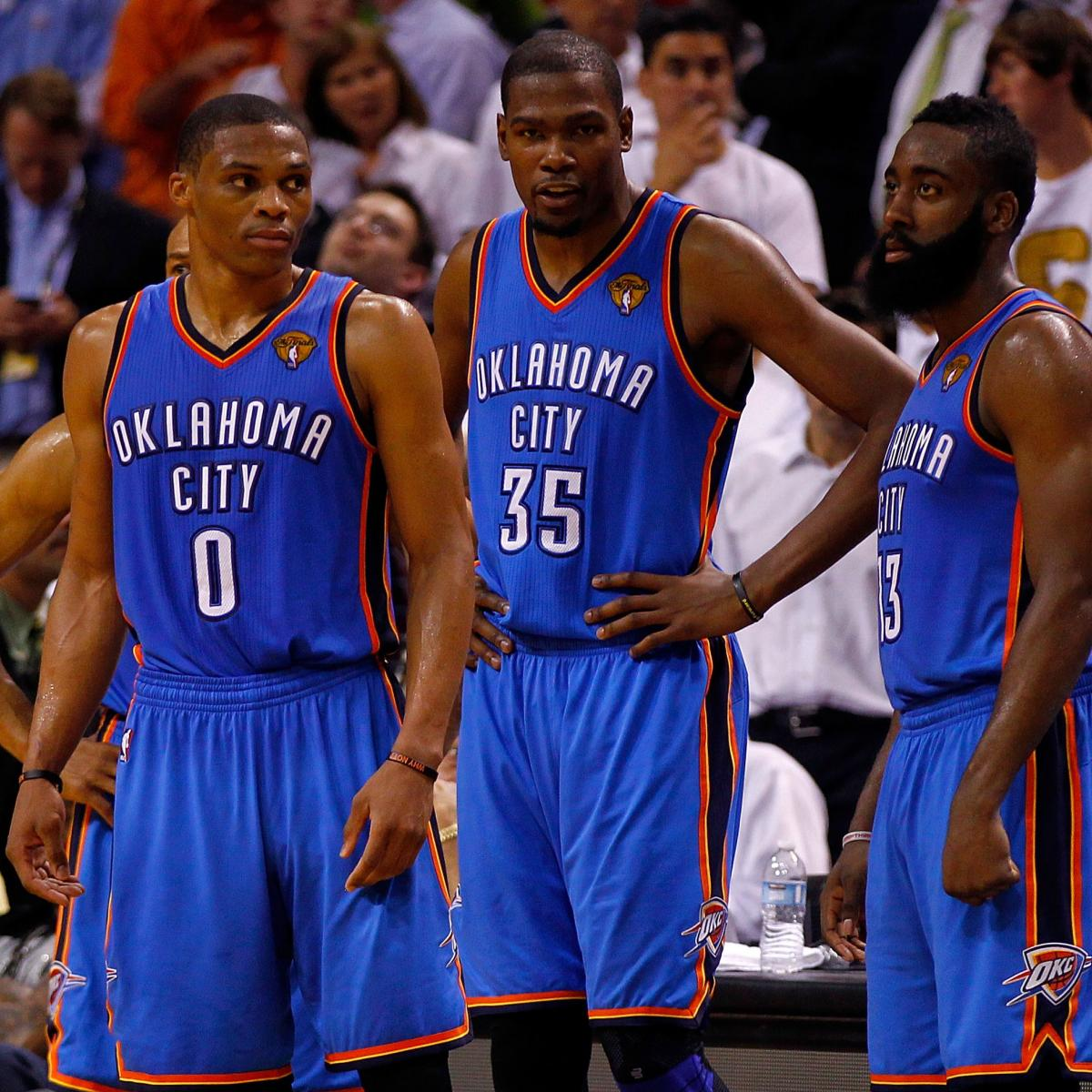Nba Finals 2012 Is History Repeating Itself For The Oklahoma City Thunder Bleacher