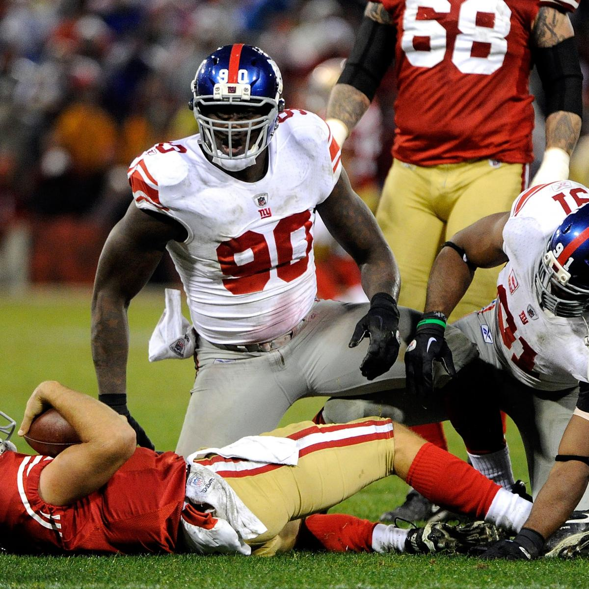 Jason Pierre Paul Stats News Videos Highlights: NY Giants Defensive Line Looking Super For The 2012 Season
