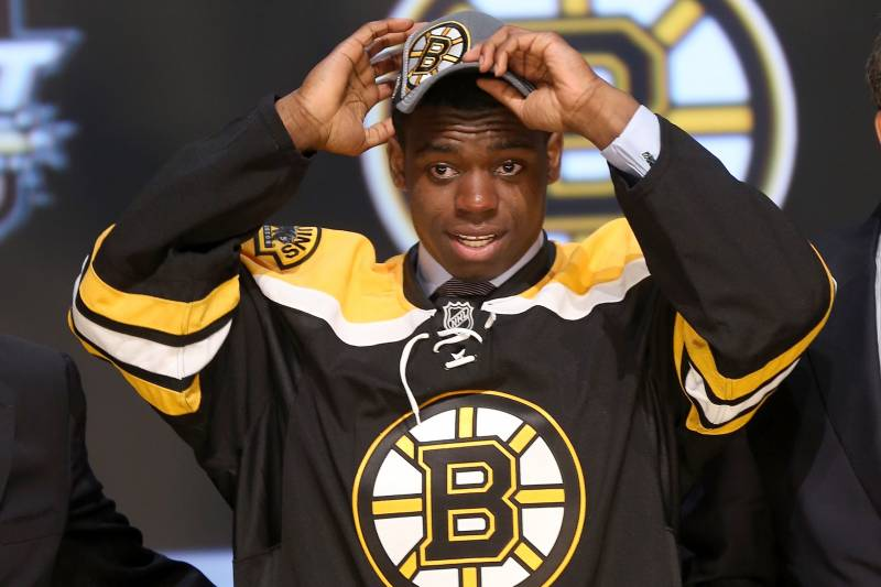 Boston Bruins Malcolm Subban And Other Goalies Drafted By The