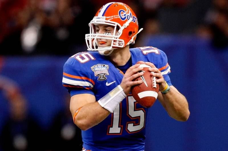 "premium selection d5e65 df12b Tim Tebow ""Back to the Future"" as Gators Try for Three out ..."
