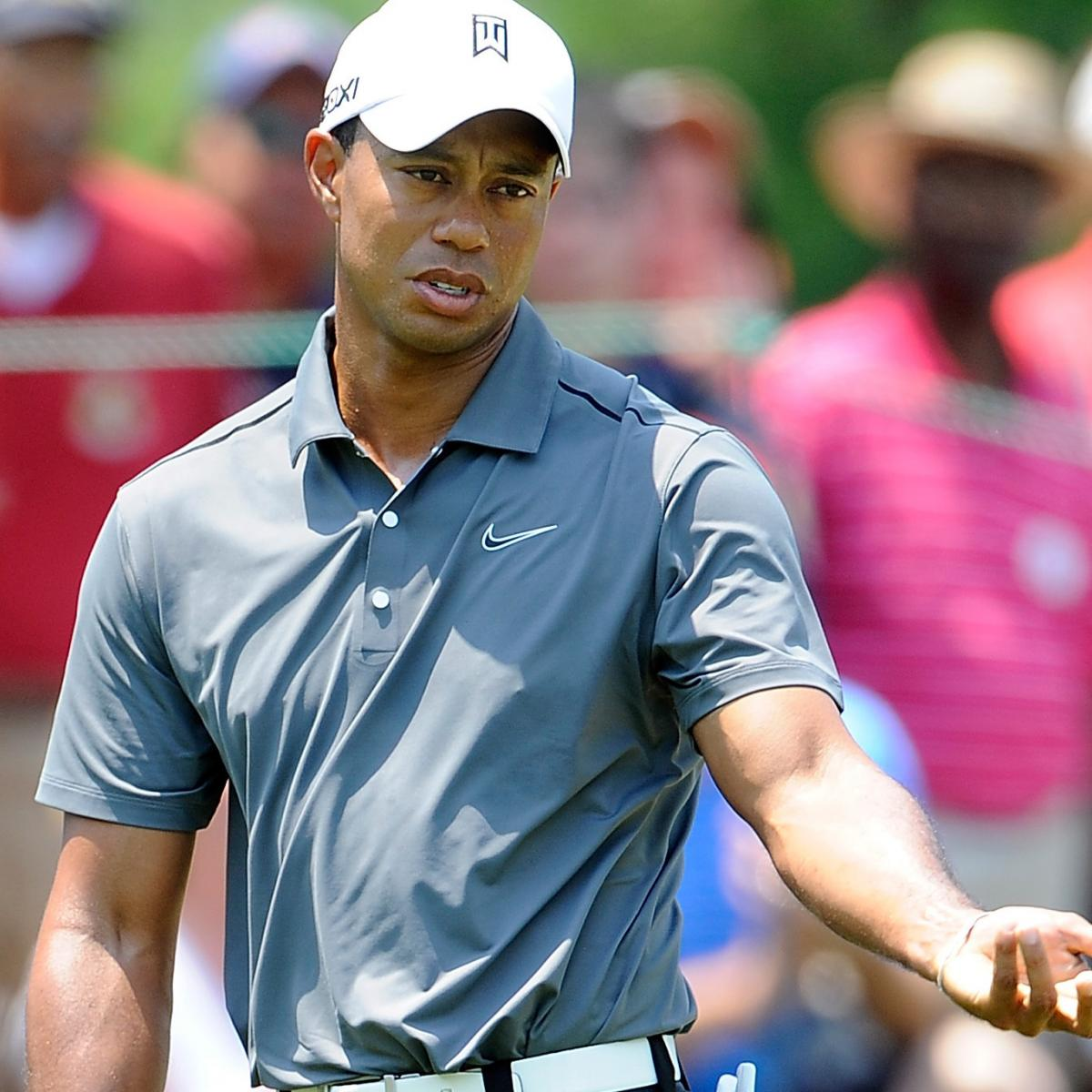 Tiger Woods at AT&T National 2012 Tracker: Day 2 ...