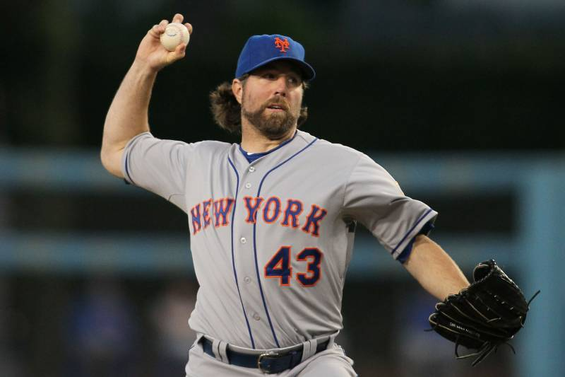 NY Mets: Why R A  Dickey Locked Up His Spot as NL Starter