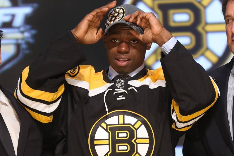 Boston Bruins How Quickly Can Malcolm Subban Climb Up Through The
