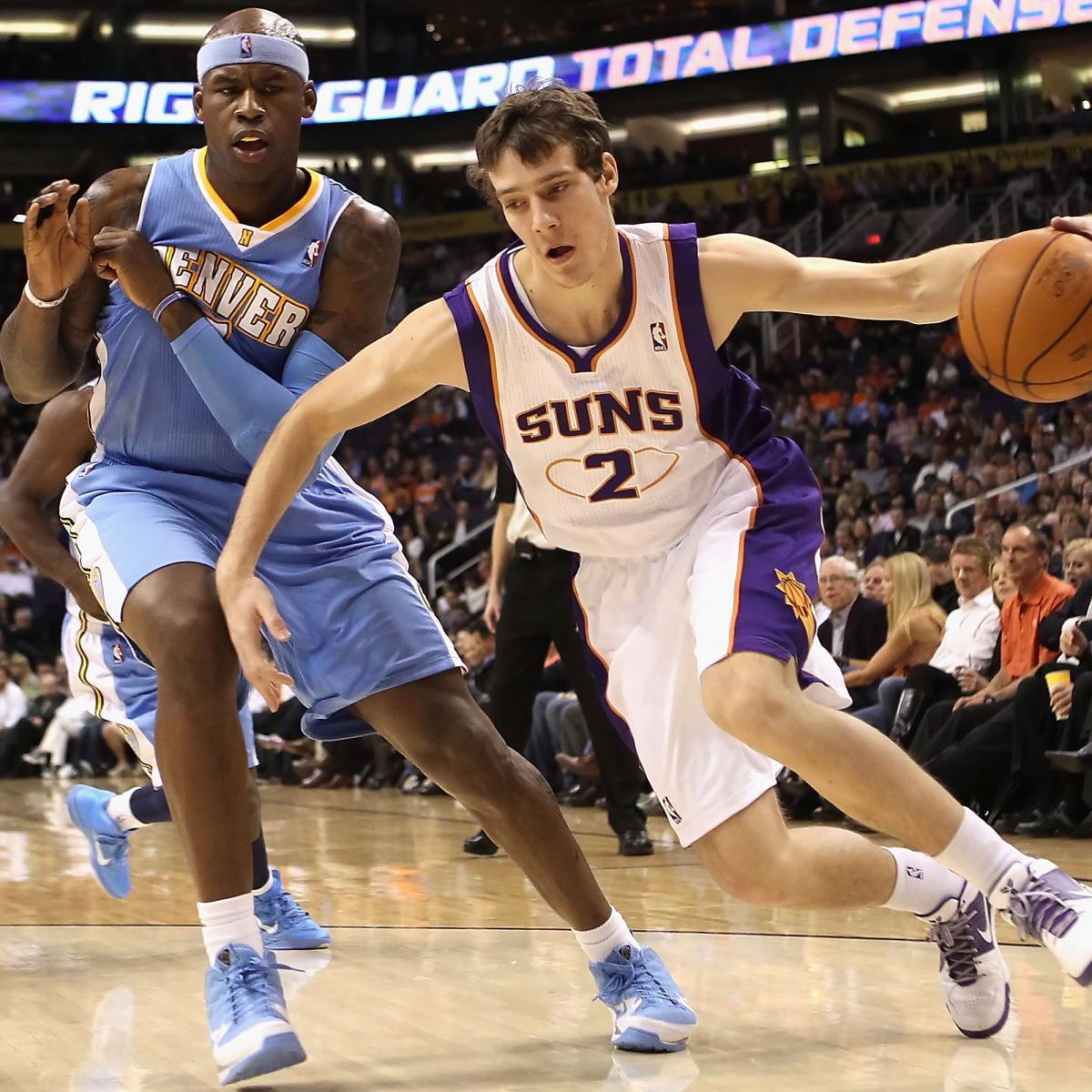 NBA Free Agents 2012: Phoenix Suns Sign Goran Dragic To 4