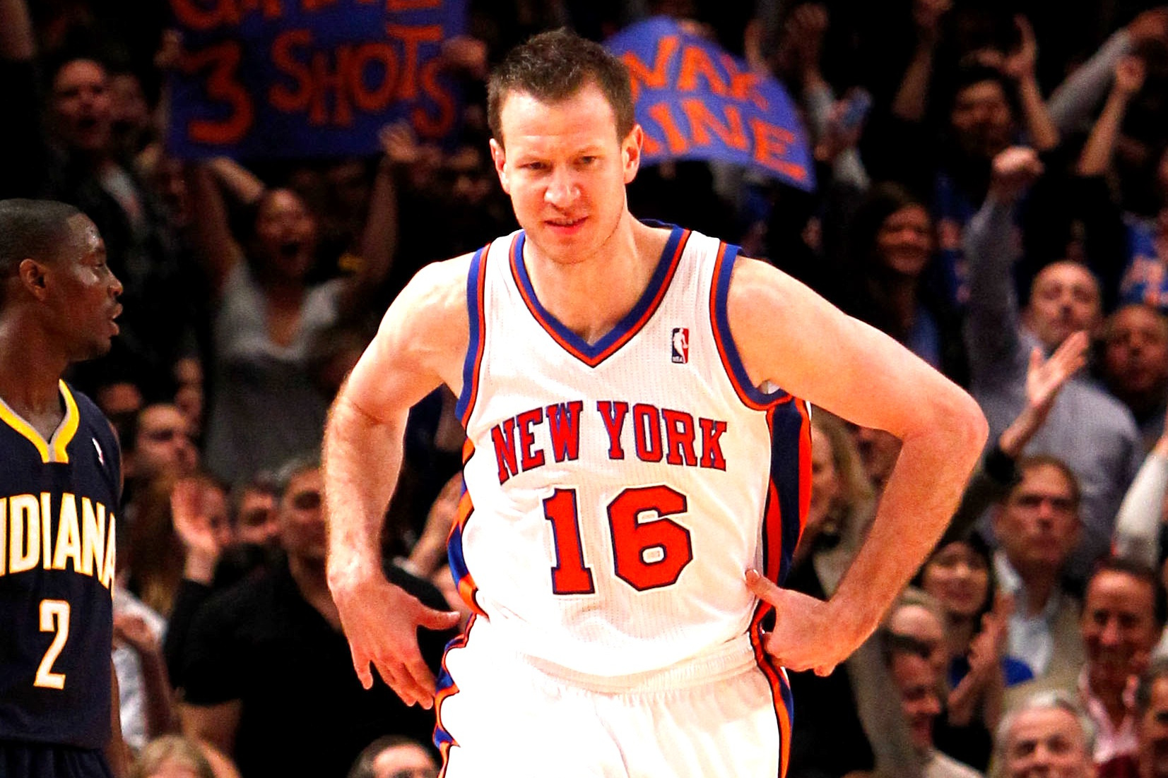 hot sale online 71aaf 87f6a NBA Free Agency 2012: Steve Novak and N.Y. Knicks Agree to ...