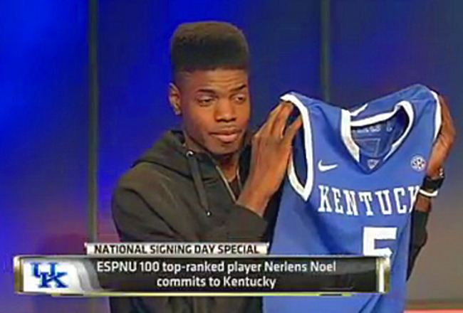 Kentucky Basketball Comparing Nerlens Noel S Tools To
