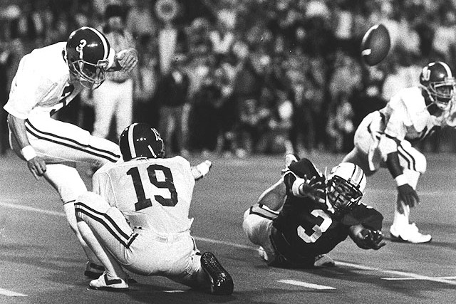 Classic SEC Football: Alabama Tops Auburn in 1985 in 'the Kick ...