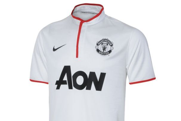 sports shoes dadb8 9078d Manchester United Reveal New White Away Kit   Bleacher ...