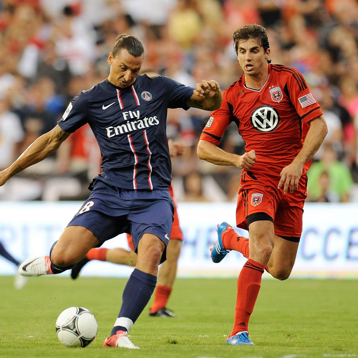 zlatan ibrahimovic announces psg arrival against dc united bleacher report latest news. Black Bedroom Furniture Sets. Home Design Ideas