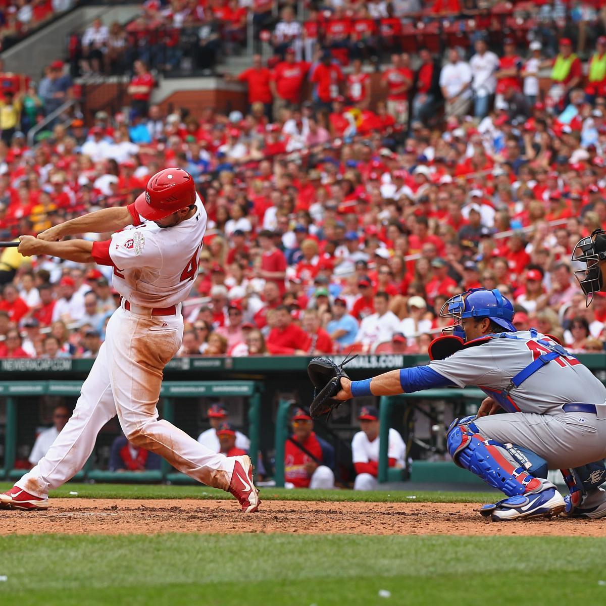 cubs cardinals vs baseball mlb rivalry bleacherreport highlights