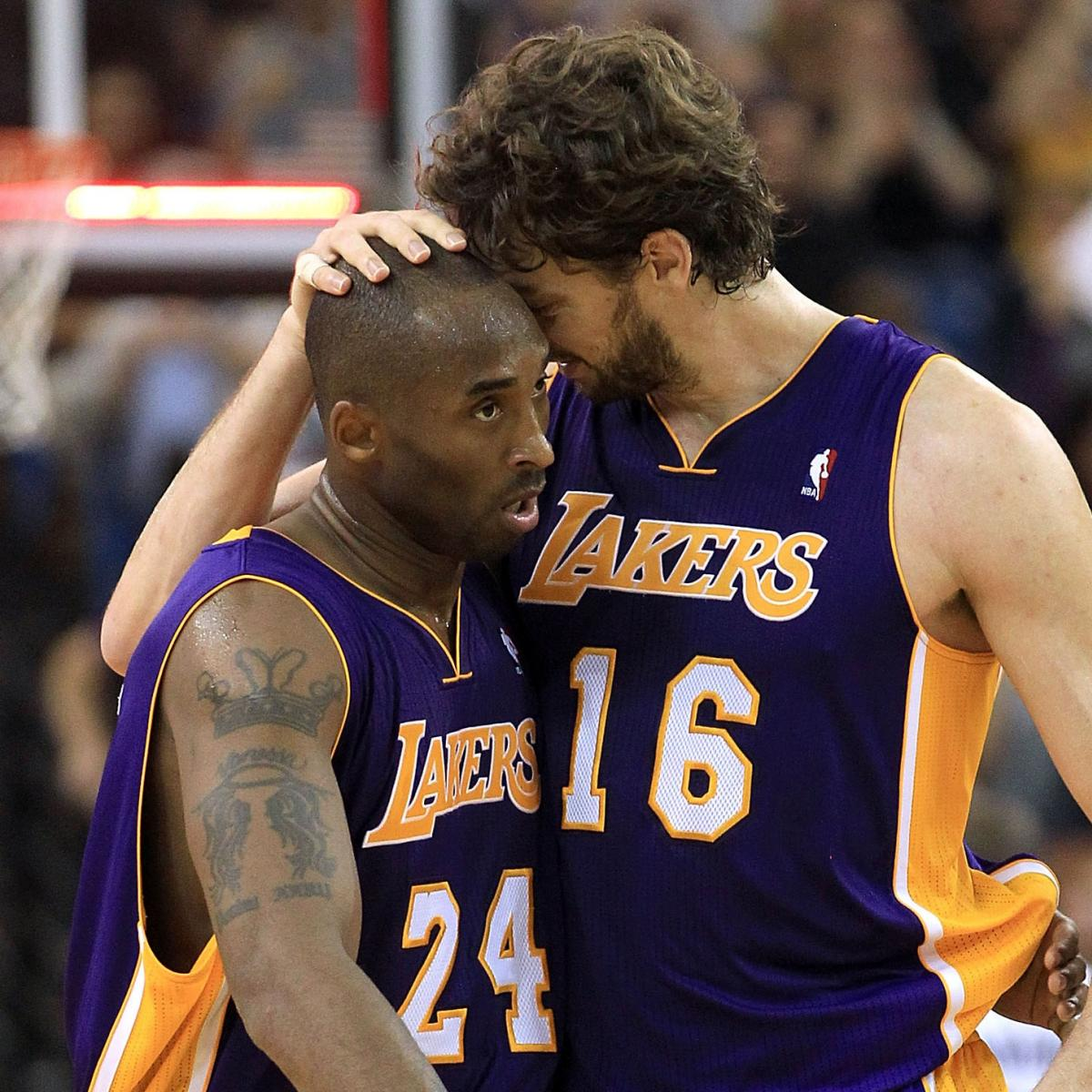 Nuggets Hall Of Famers: Kobe Bryant And Pau Gasol: A Rebirth Of The Lakers