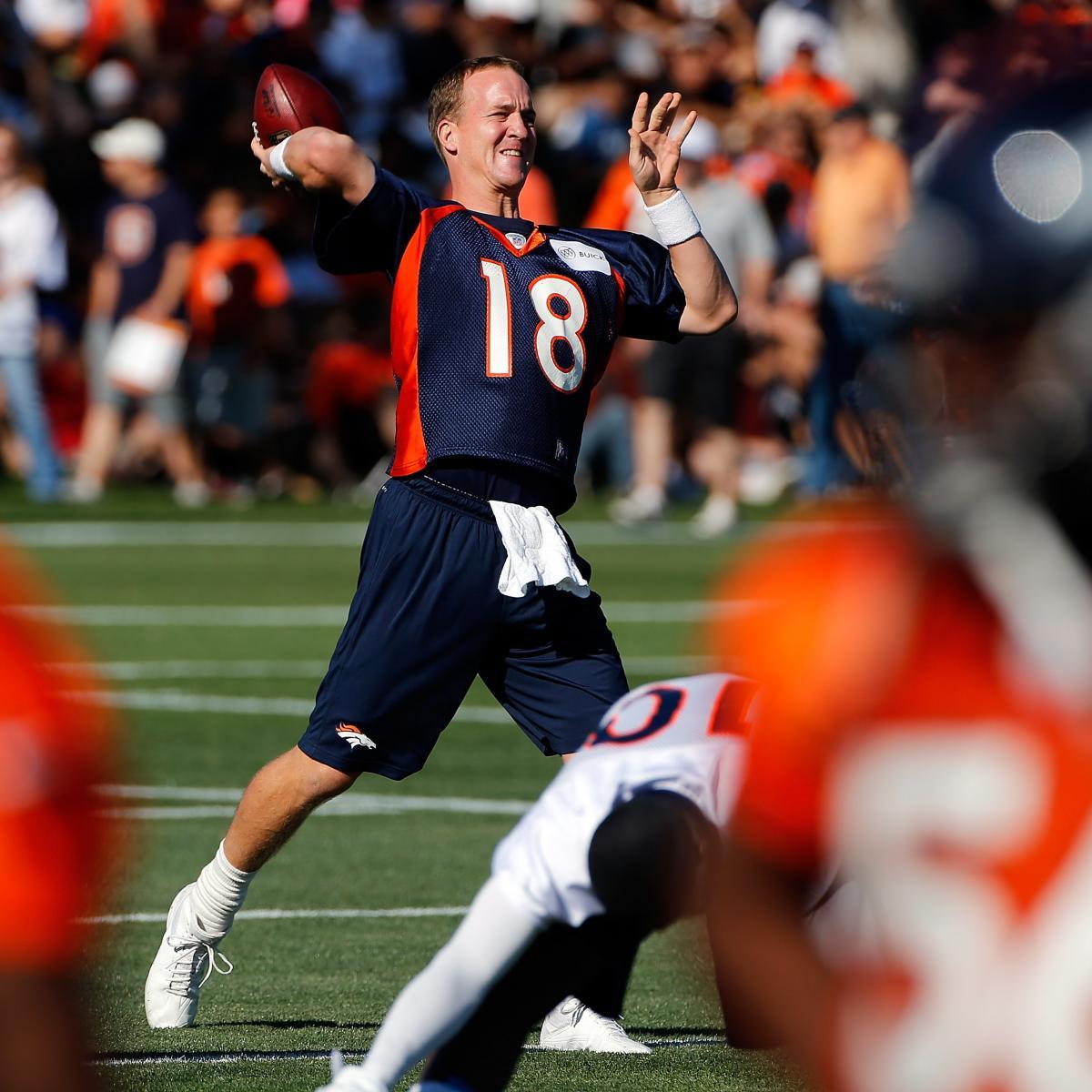 Denver Broncos Roster 2012: Latest News, Cuts, Preseason