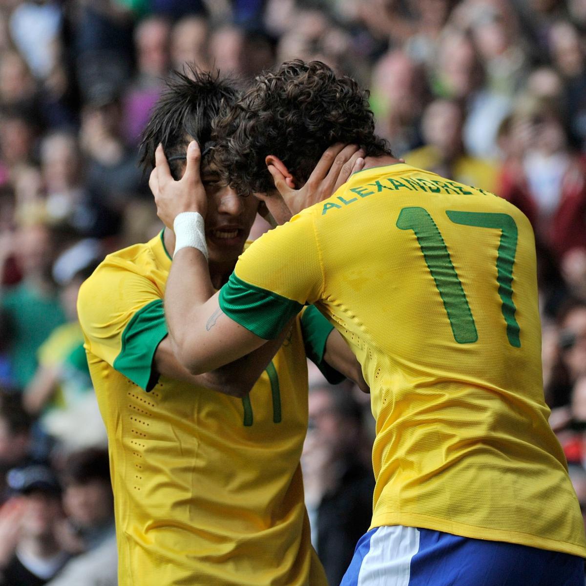 Lucas Moura Goal Vs Manchester United: Brazil Vs. Honduras: Men's Olympic Soccer Live Score
