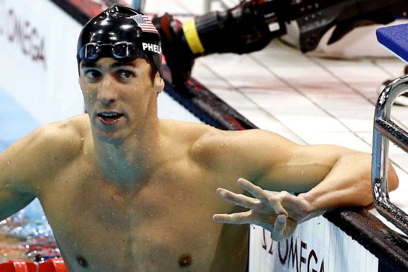 Olympic Swimming Results 2012 Michael Phelps Wins 100 Fly