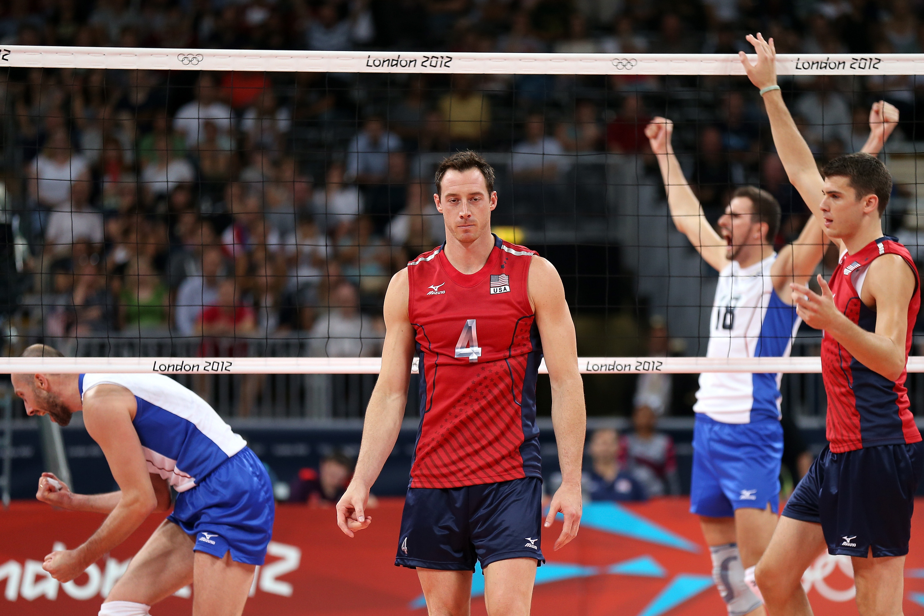 Olympic Volleyball 2012 American Men S Team Fails To Put Away Russia Bleacher Report Latest News Videos And Highlights