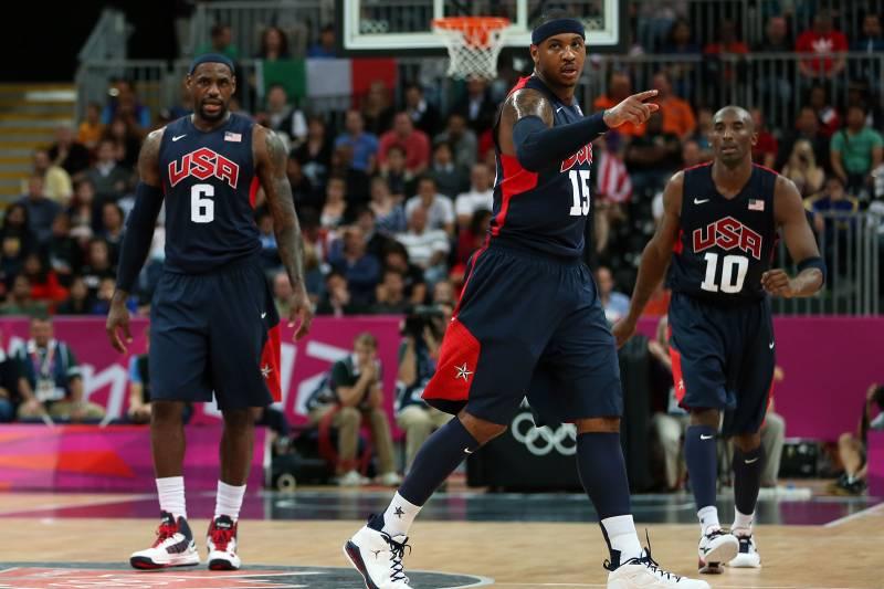 3be1b455da23 Olympics 2012  1992 Dream Team vs. 2012 Team USA