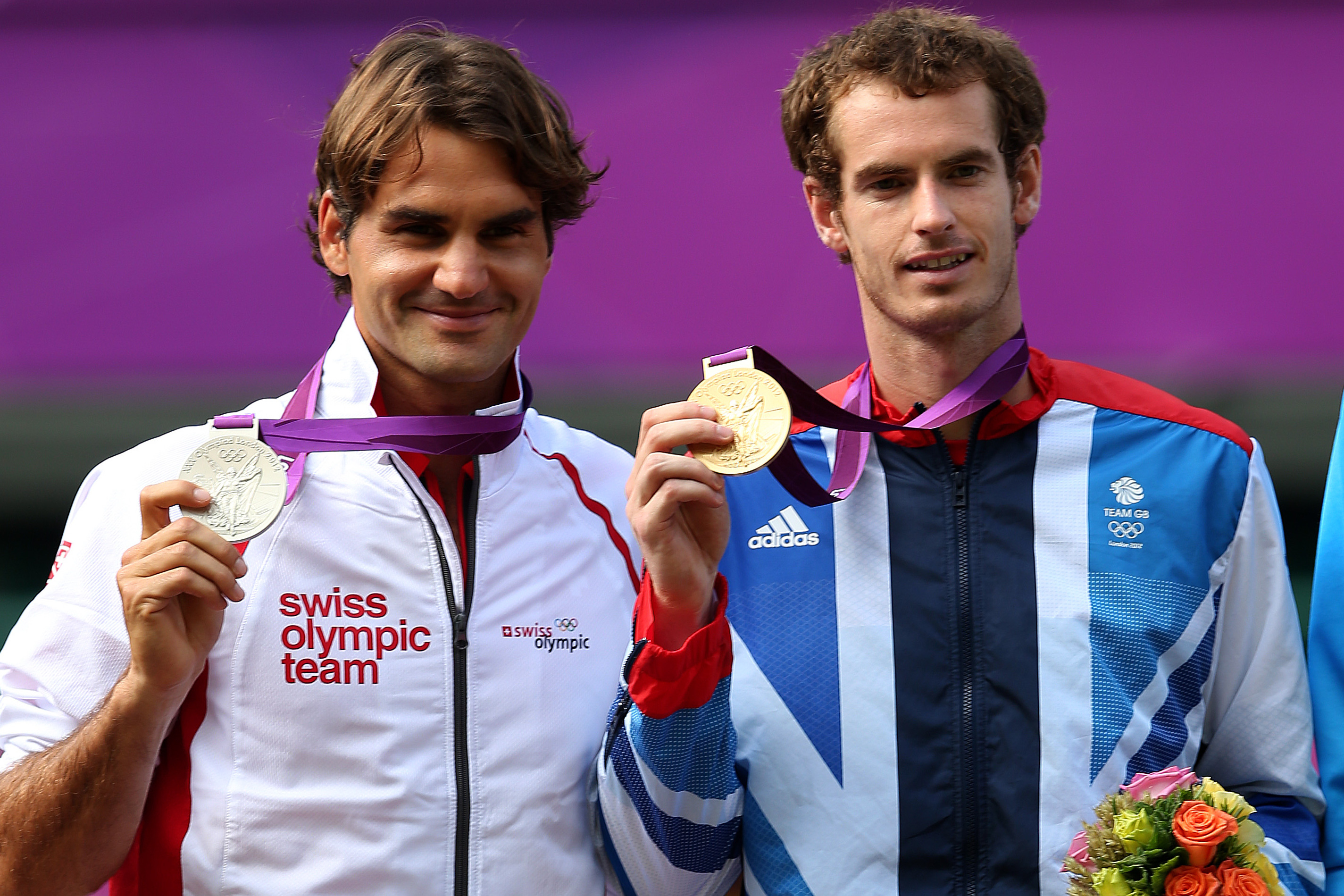 London 2012: Roger Federer Nabs Olympic Singles Silver Medal in 4th Attempt   Bleacher Report   Latest News, Videos and Highlights