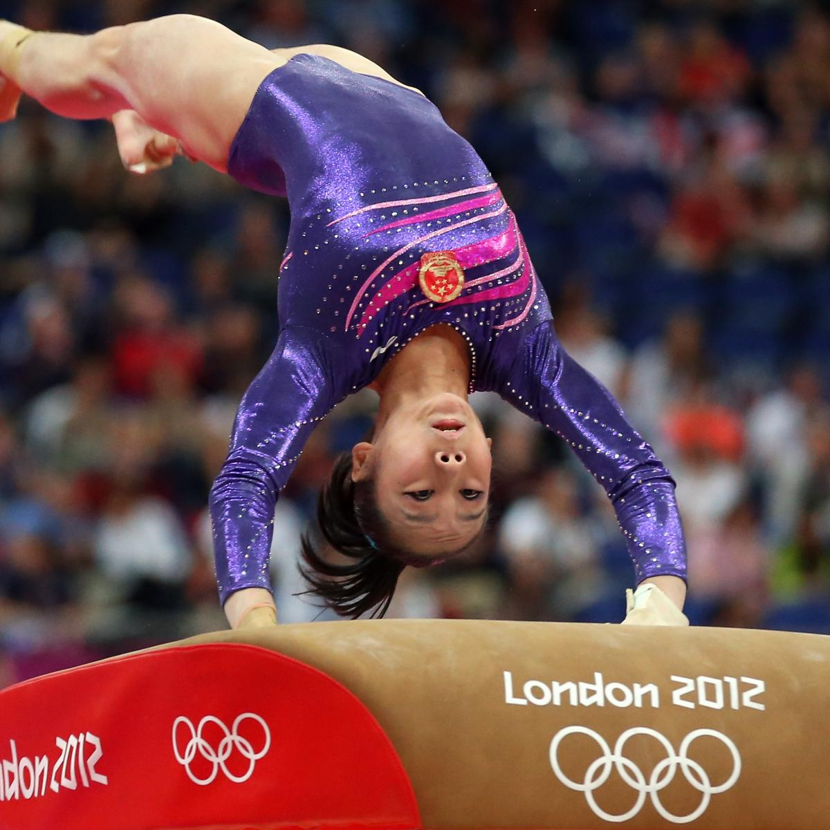 Olympic Women's Gymnastics 2012 Results: Day 9 Scores ...