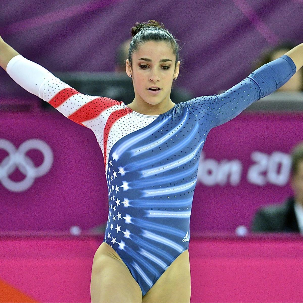 Top Ten Fab Pictures: US Olympic Women's Gymnastics Team 2012: Final Grades For