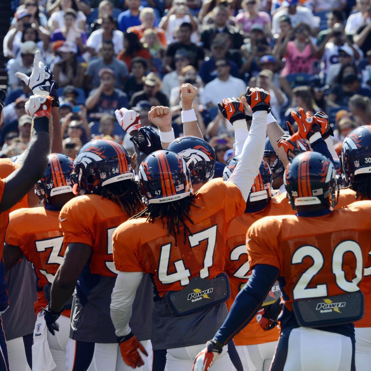 Denver Broncos Depth Chart: Denver Broncos: One Burning Question For Every Member Of