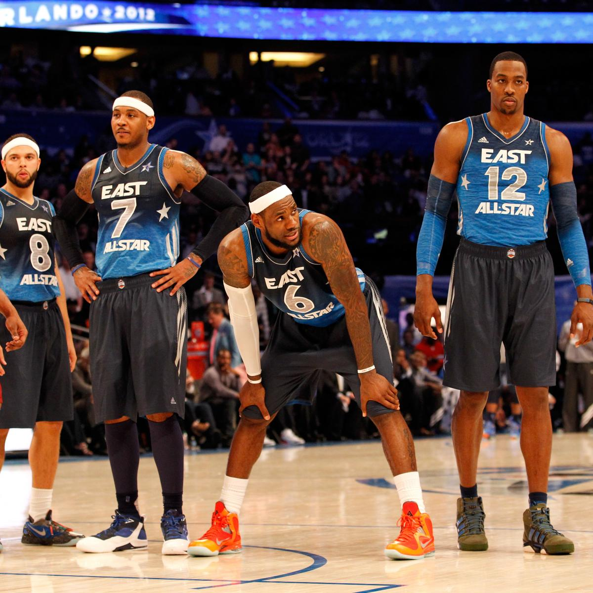 30afff78f770 Very Early Predictions for the 2013 NBA All-Star Game Rosters ...