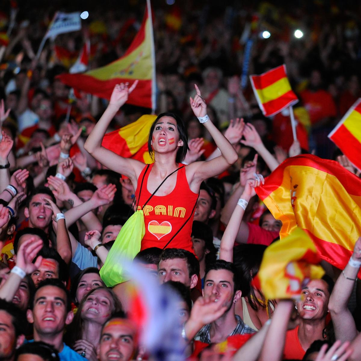 20 Countries with the Most Passionate Fanbases | Bleacher Report | Latest  News, Videos and Highlights