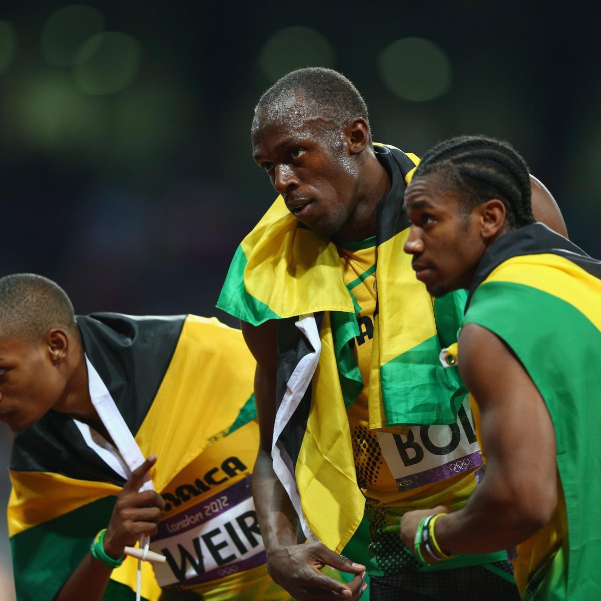 London 2012 Track and Field Men's 200m: Jamaica Dominates ...