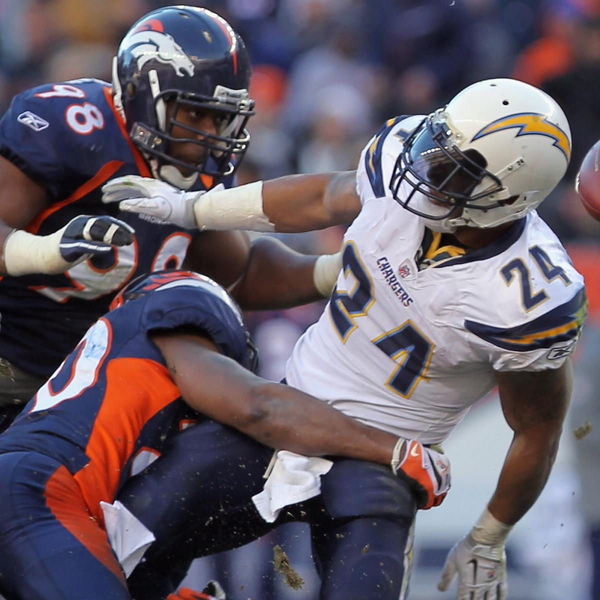 San Diego Chargers Bleacher Report: Updated Outlook For The San Diego Chargers' 2012 Schedule