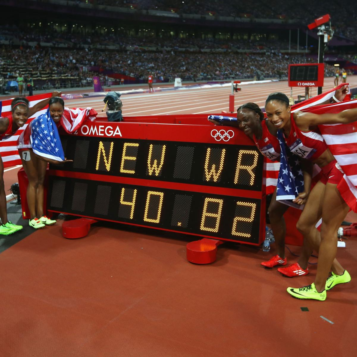 2012 Olympics: The 25 World Records Of The London Games