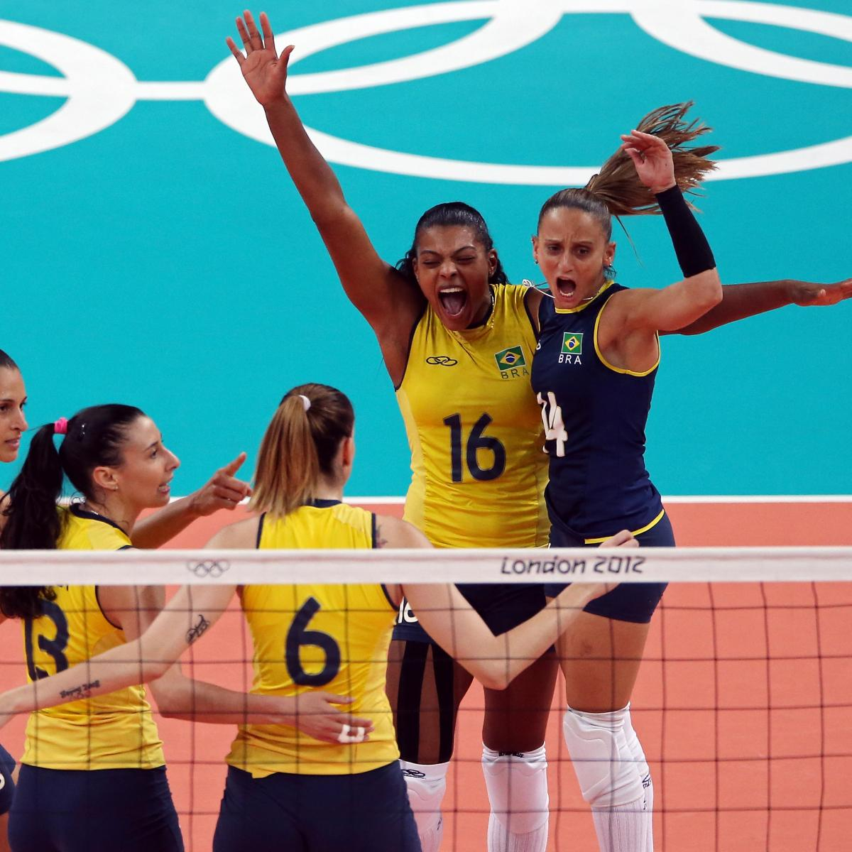 Olympic Volleyball 2012: Women's Gold- and Bronze-Medal ...
